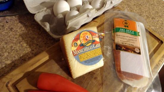 omelet stuff