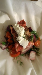 A Not-So-Big-Fat-Greek-Easter Meal:  Lamb En Papillote