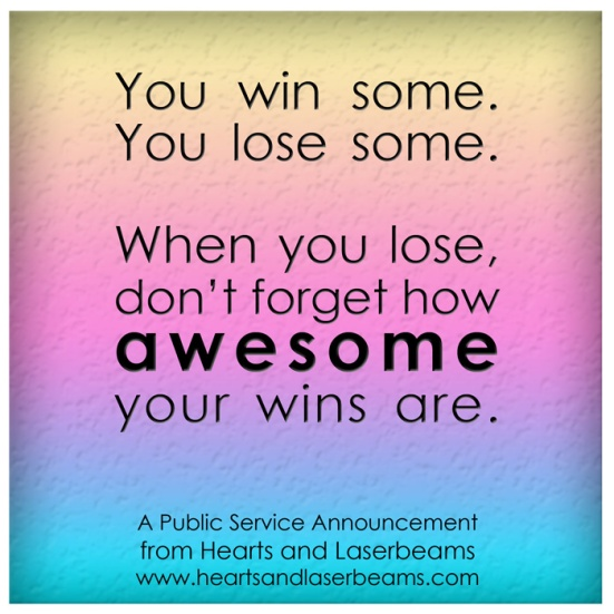 Miscarriage and Loss: You Win Some, You Lose Some