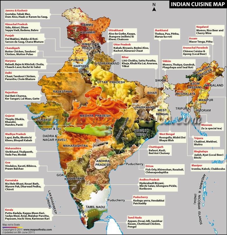 Northern india the hungary buddha eats the world indian cuisine map gumiabroncs Image collections