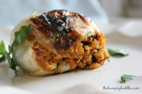 Stuffed:  Osh Pyozee, or Stuffed Onions