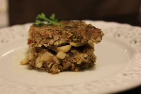 Are You Kibb-eh me?  Kibbeh, or Lebanese Meatloaf